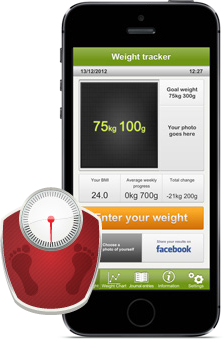 Weight tracker mobile app